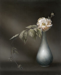 Mary Waters, 'Rose 1 in China Flask', 2013