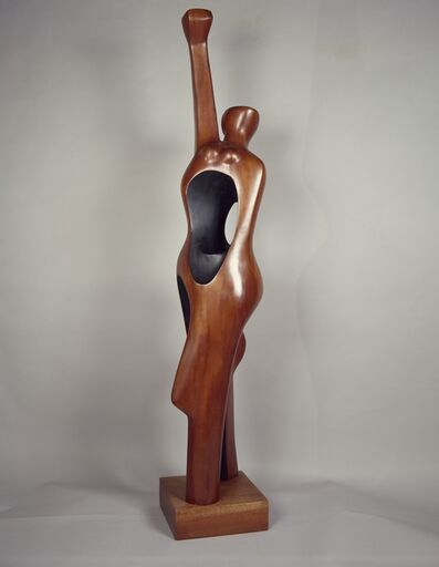 Elizabeth Catlett, 'Homage to My Young Black Sisters', 1968