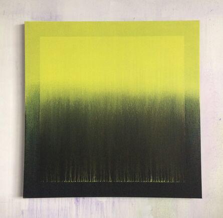 Guillaume Colussi, 'Carré jaunit dans carré jaunit', 2017