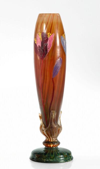 "Emile Gallé, '""Crocus"" Vase', circa 1900"