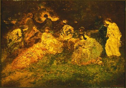 Adolphe Monticelli, 'Fete Champetre', Date unknown
