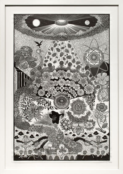 Jesse Shaw, 'American Flowers', 2011