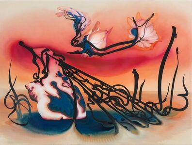 Inka Essenhigh, 'Fallen angel', 2015