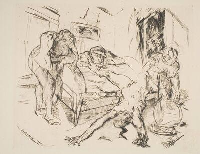 "Max Beckmann, 'Die Nacht, from ""Shakespeare-Visionen""', ca. 1914 (published 1918)"
