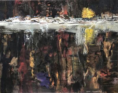 David Alexander, 'Winter Shore, Yellow Bush ', 2004