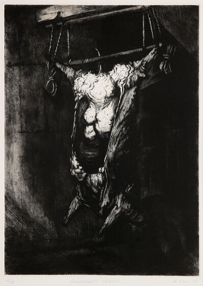Ken Currie, 'Rembrandt's Carcass', 1991