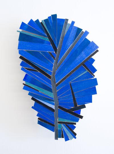 Ruby Palmer, 'Bright Blue Leaf', 2021