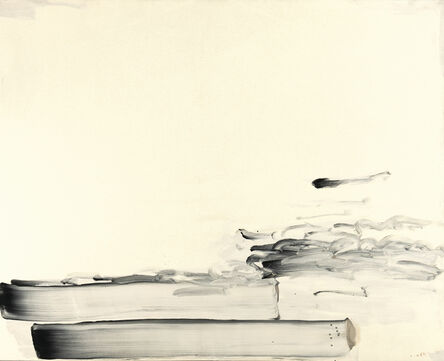 Lee Ufan, 'With Winds', 1990