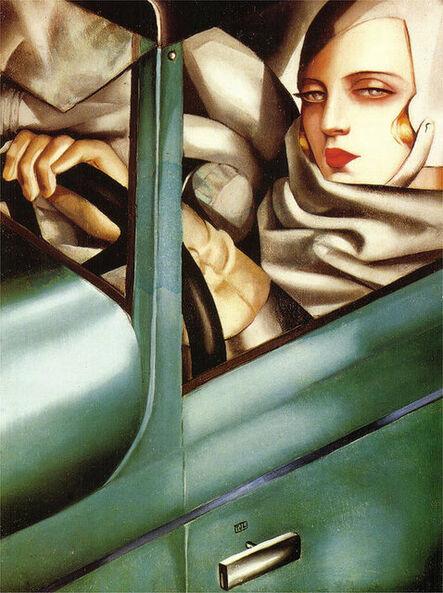 Tamara de Lempicka, 'Self Portrait (Tamara in a Green Bugatti)', ca. 2014