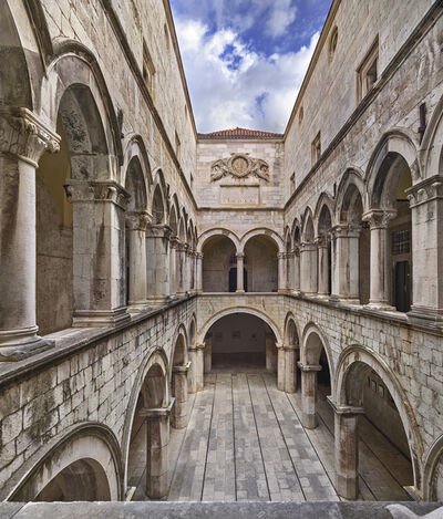 Ahmet Ertug, 'Atrium of the Sponza Palace, Dubrovnik', 2017