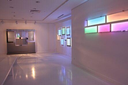 Emire Konuk, 'Mecathronic Cabinet with mirrors'