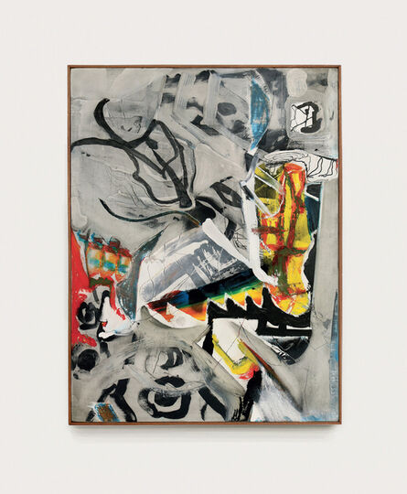 Arthur Lanyon, 'Tractor with Acrobat', 2020