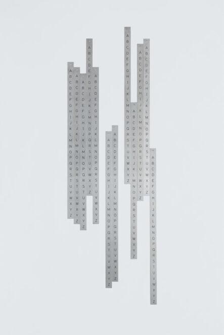 Detanico Lain, 'Ponto de vista - da série Alfamétrica', 2010-2014