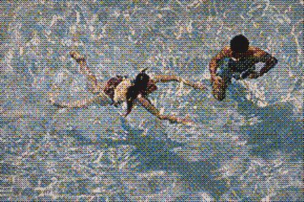 William Betts, 'Swimmers III, Miami Beach, version 2', 2019