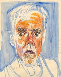 Don Bachardy, 'Self-Portrait', January 12-2019