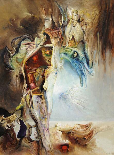 James Gleeson, 'The Gathering', 1999