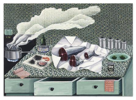 Nikki Maloof, 'The Green Kitchen', 2020