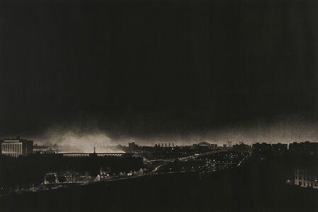 Craig McPherson, 'Yankee Stadium at Night', 1983