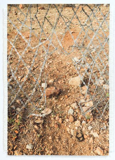 Dan Halter, 'Hole in Zim / SA Border Fence', 2017