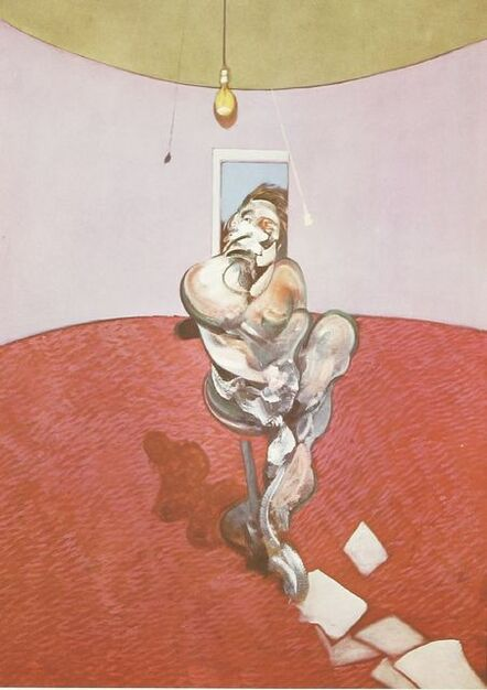 Francis Bacon, 'George Dyer Talking', 1966