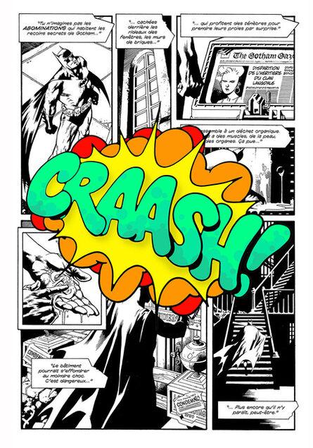 """CRASH (John """"Crash"""" Matos), 'CRAASH!', 2016"""