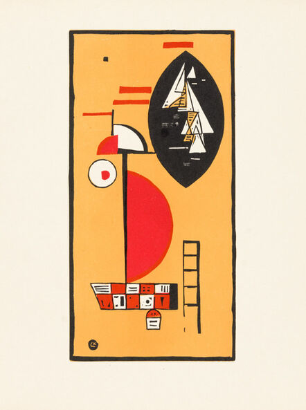 """Wassily Kandinsky, 'Woodcut for Editions """"Cahiers d'Art"""" )', 1930"""