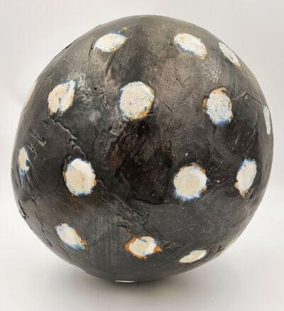 Carol Fleming, 'Untitled Sphere (Brown, teal)', 2020