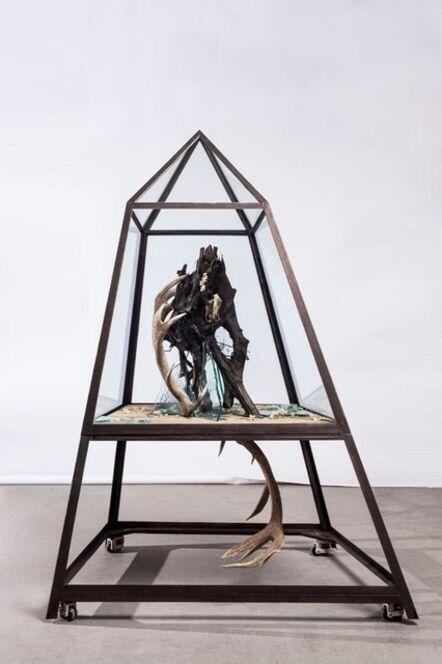 Wu Jian'an 邬建安, 'The Mountain Trapping the Dragon', 2014