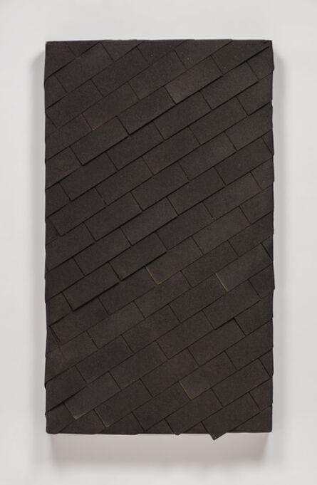 Theaster Gates, 'watertight diagonal shingle', 2015