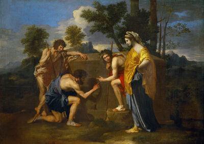 Nicolas Poussin, 'Et in Arcadia Ego', ca. 1655