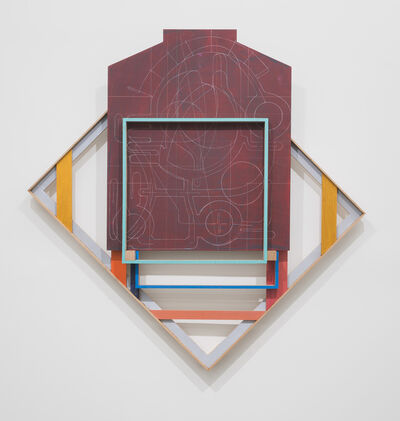 Andrew Lyght, 'Painting Structures P330', 2018-2019