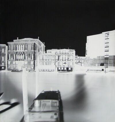 Vera Lutter, 'Ca del Duca Sforza, Venice XXXXVII: July 26, 2008', 2008