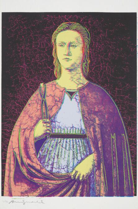 Andy Warhol, 'Saint Apollonia (F & S. II.330-333)', 1984
