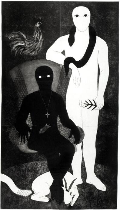 Belkis Ayón, 'La familia (The Family)', 1991