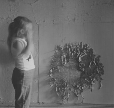 Ralph Eugene Meatyard, 'Untitled (Figure and Wall Detail)', 1961/1974