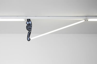 Chadwick Rantanen, 'Fluorescent Fittings [Owl/Black and White]', 2015