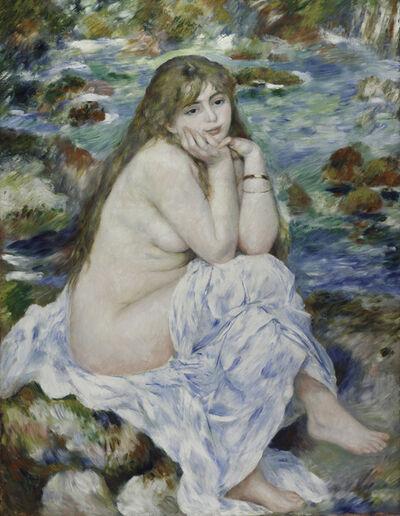 Pierre-Auguste Renoir, 'Seated Bather', ca. 1883–84