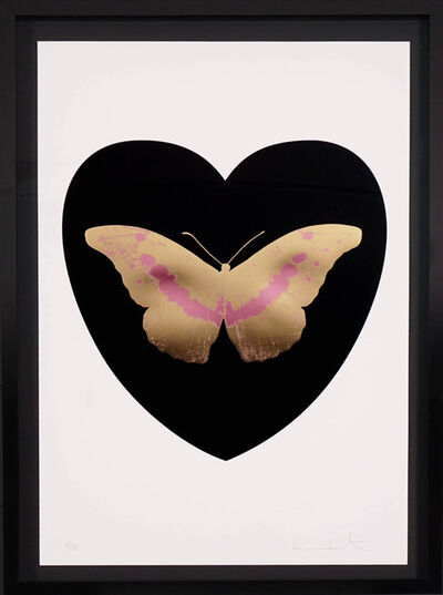 Damien Hirst, 'I Love You Black/Gold Butterfly ', 2015