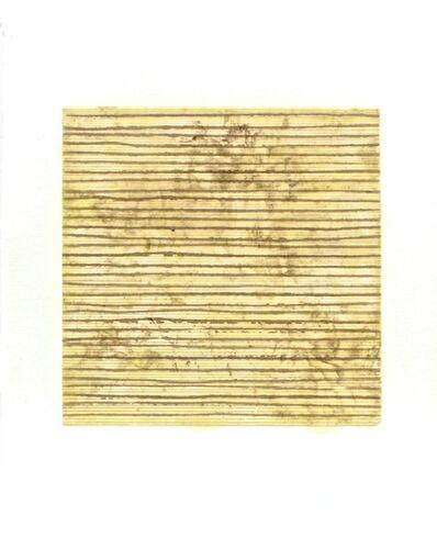 Rakuko Naito, 'RN1815-08 Wax on Paper Stripe', 2008