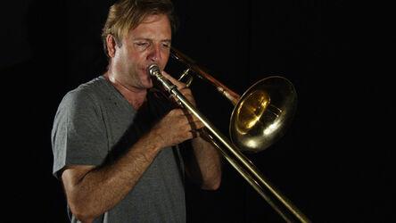 R. Luke DuBois, 'Chris McIntyre, Trombone', 2014