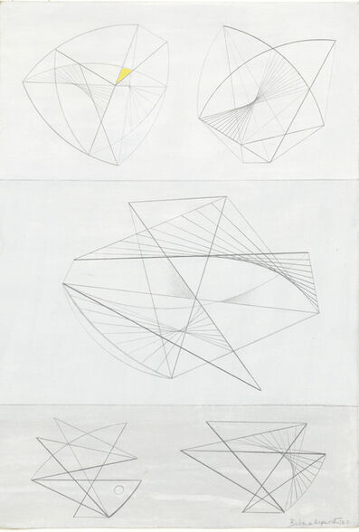 Barbara Hepworth, 'Lines in Movement', 1942
