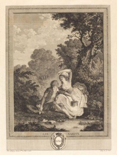 Jacques Couché after Nicolas Lavreince, 'Les sabots', 1784