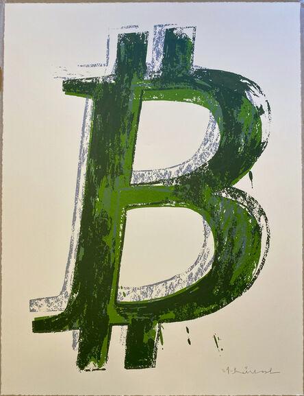 Mr. Brainwash, 'Bitcoin - Green', 2018