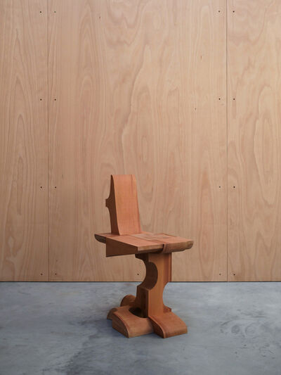 Max Lamb, '6x8 Chair (Western Red Cedar)', 2021