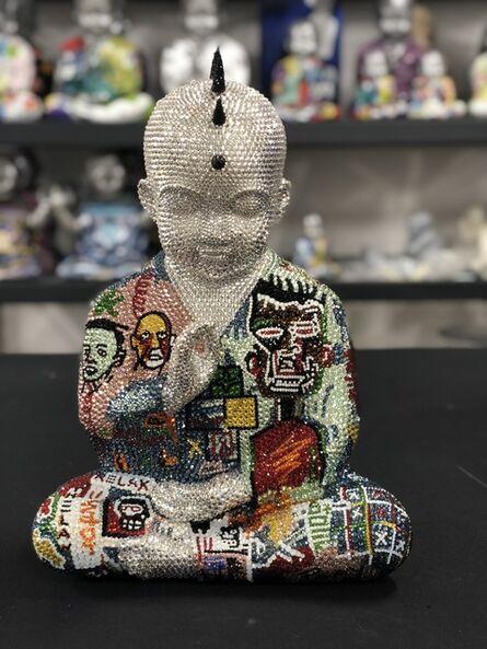Metis Atash, 'Metis Atash Punk Buddha Relax feat. Basquiat', ca. 2018
