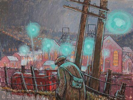 Norman Cornish, 'Pit head lights'