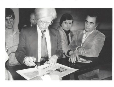 Andy Warhol, 'Andy Warhol', 1972 -1986