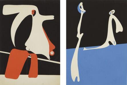 Joan Miró, 'Cahiers D'Art (Dupin 14-15)', 1934