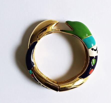 Niki de Saint Phalle, 'Serpentine Bracelet ', ca. 1982