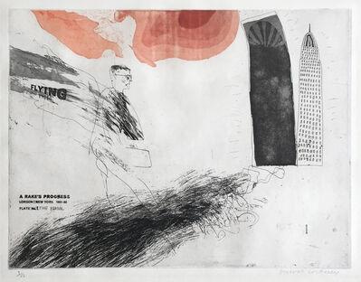 David Hockney, 'The Arrival', 1961-1963